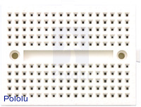 170-point breadboard top view.