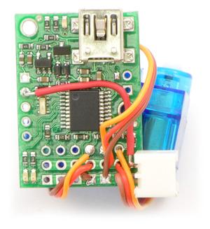 Servo wiring to Micro Maestro