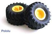Tamiya 70096 Off-Road Tires (2 tires)