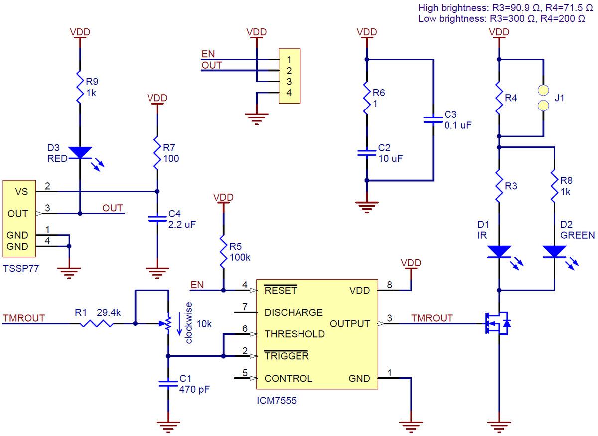 Pololu 38 Khz Ir Proximity Sensor  Fixed Gain  Low Brightness
