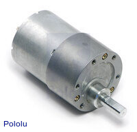 29:1 Metal Gearmotor 37Dx52L mm