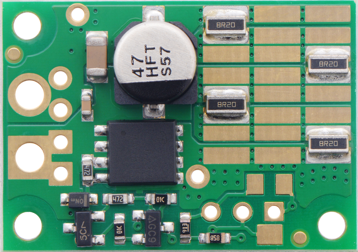 Pololu Shunt Regulator Fine Adjust Lv 150 15w Circuit Composed Of Zener Diodes Powersupplycircuits 330 V 328 3w